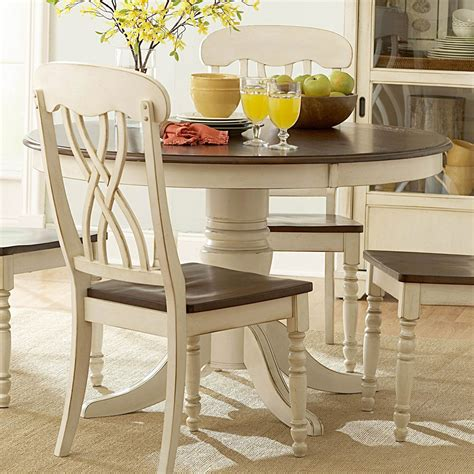 White Kitchen Table Set by Ohana White Dining Table Casual Kitchen Dining Tables