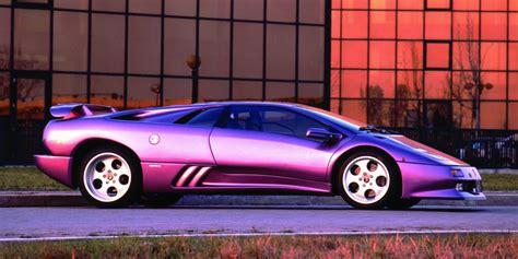Purple Lamborghini Diablo by Vintage Corner Lamborghini Diablo Premier Financial