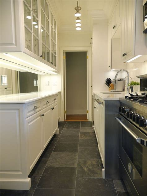 narrow galley kitchen design ideas peenmedia com 17 best images about galley kitchens interior design