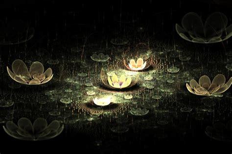 fiori di notte fiori di notte illustrazione di stock illustrazione di