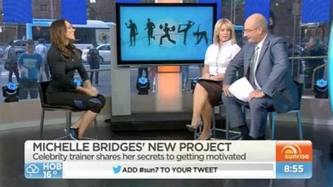 bridges 12 week challenge bridges persuades kochie to do 12 week