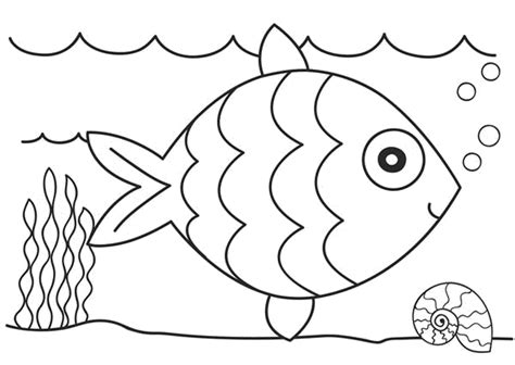 preschool coloring pages water print download cute and educative fish coloring pages