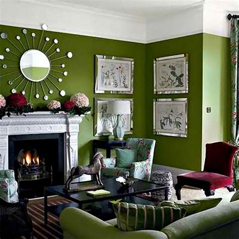 12 small green living room interior design inspirations for small houses
