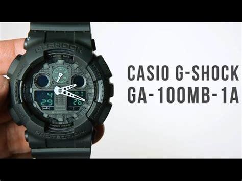 Promo Casio G Shock Ga 100mb 1a casio g shock ga 100mb 1a unboxing