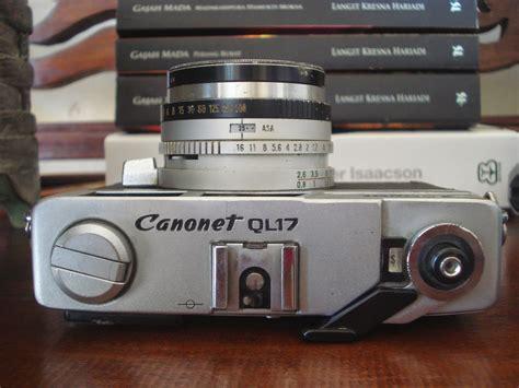 Kamera Canon Canonet Ql17 banyumas antik vintage canon canonet