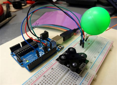 arduino color sensor rgb led technology tutorials