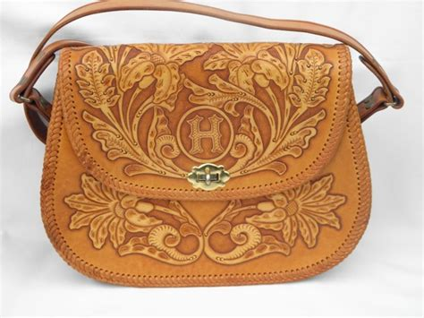 Handmade Leather Purse Patterns - 6 best images of free leather purse pattern printables