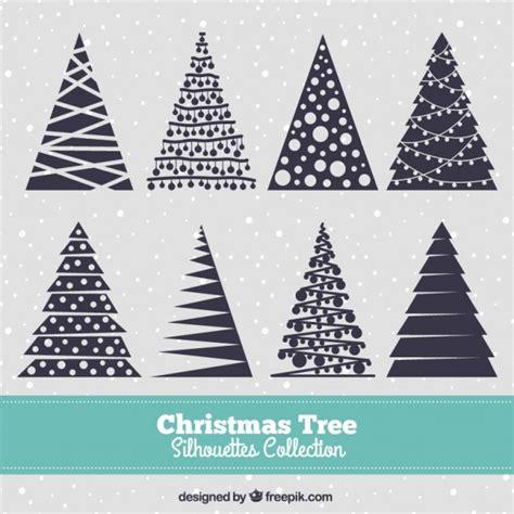 siluetas de 225 rbol de navidad azul oscuro descargar