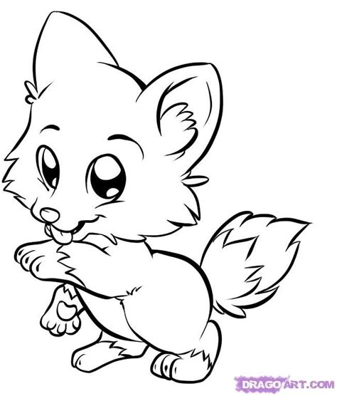 baby wild animals coloring pages coloring pages wild animals website inspiration baby fox