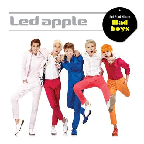 Led Apple led apple bad boys 3rd mini album