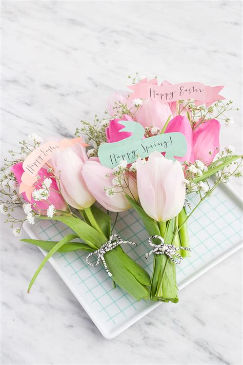 Easter Bouquets by Mini Diy Easter Bouquets Say Yes