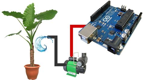 projects on arduino based automatic plant watering system pdf automatic watering system for plants using arduino youtube