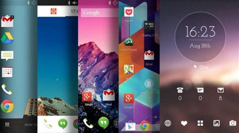 best mobile launcher for android top 5 android launchers