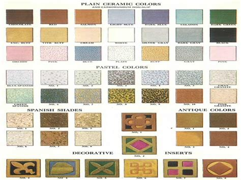 vintage wall colors bathroom floor ceramic tile colors