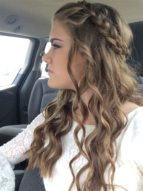 Formal Braided Hairstyles by Braid Prom Hairstyle Popular Hairstyle Idea
