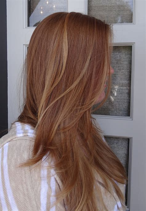 blonde hair with highlights strawberry blonde with highlights neil george