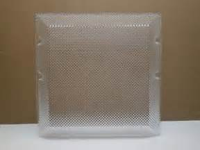 Replacement Light Fixture Covers Replacement Light Fixture Cover Square Plastic Refractor Lens Prism 13 X 13