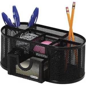 Rolodex Desk Accessories Rolodex 174 Desk Organizer Steel Black Mesh Quill