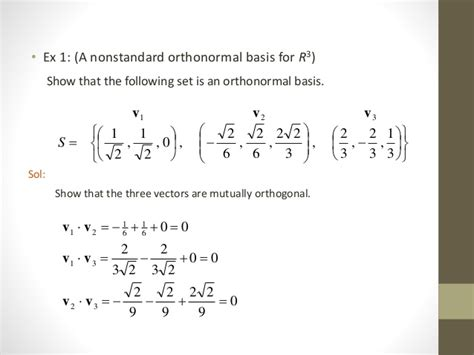 inner product orthonormal basis inner product spaces
