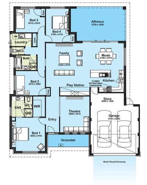 blueprint home design modern minimalist house plan gallery 4 home ideas
