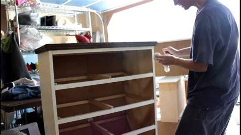 furniture finishing wax buffing