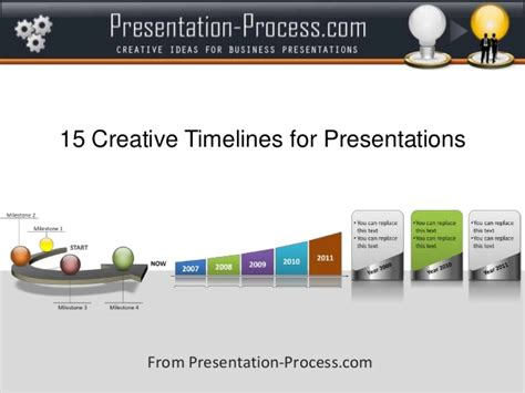 15 Creative Timelines For Presentations Creative Project Presentations
