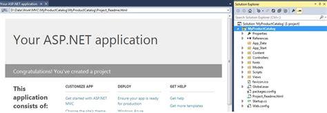 Building First Asp Net Mvc Application With Entity | building your first mvc application with entity framework