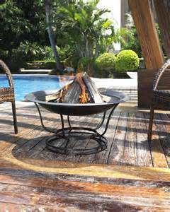 Crosley Outdoor Fire Pit Crosley Crosley Outdoor 30 Quot Round Fire Pit By Oj Commerce