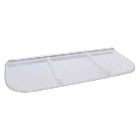 rectangular window well covers shape products 65 in x 26 in polycarbonate rectangular