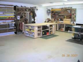 Garage Shop Designs Bench Garage Plan Work House Design