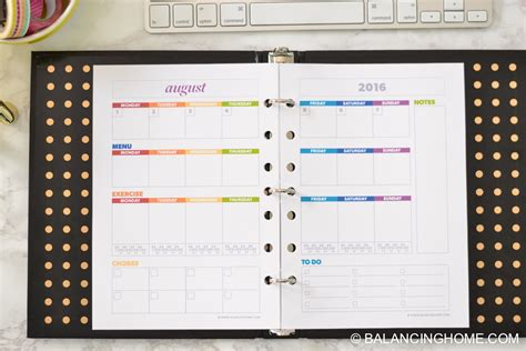 life organizer planner printable get organized with this planner and all the printables