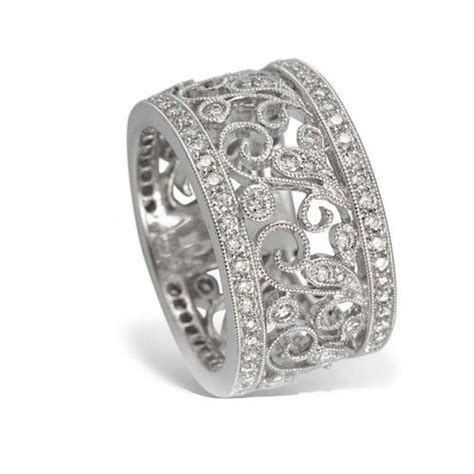 best 25 wide rings ideas on silver ring