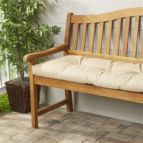 bench cushions for outdoor furniture wayfair basics wayfair basics outdoor bench cushion wayfair