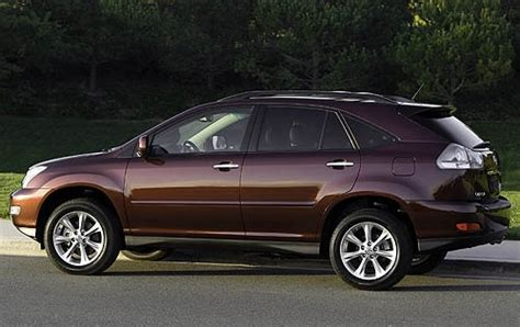 lexus rx 350 2008 2008 lexus rx 350 ground clearance specs view