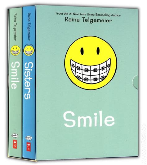 the the smile books smile gn box set 2014 scholastic comic books
