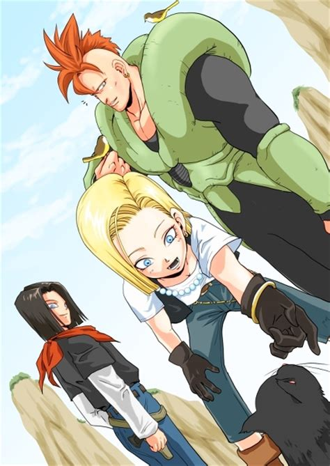 android 17 and 18 z android 18 17