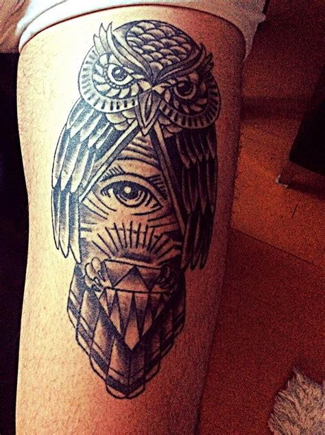owl tattoo meaning illuminati 43 best owls images on owls designs
