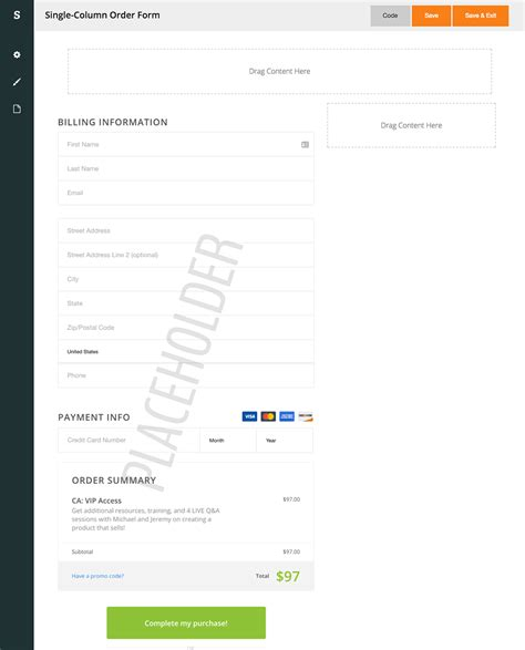 pengertian layout form columnar features spiffy beautiful infusionsoft mobile