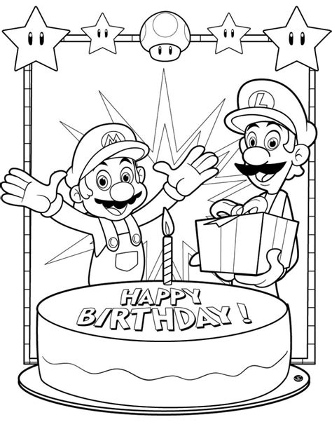 coloring pages for uncle coloring pages free printable birthday coloring pages