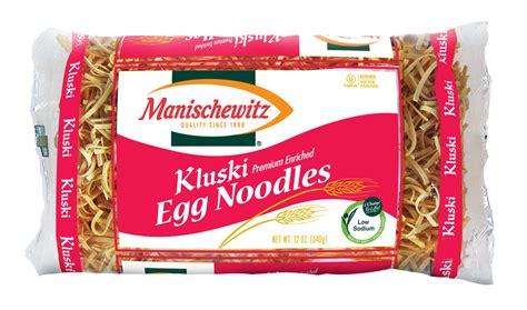 manischewitz kluski egg noodles case of 12