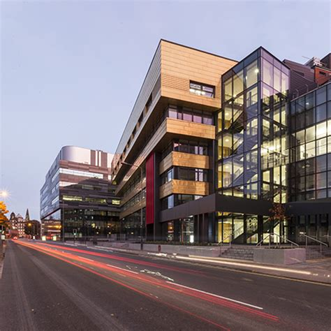 Of Strathclyde Mba by Hypostyle Architects Glasgow Projects Educational