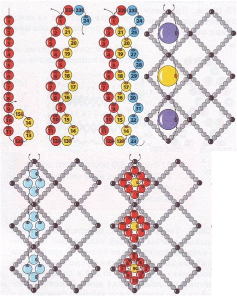 seed bead weaving tutorials 125 best jewelry net beading images on