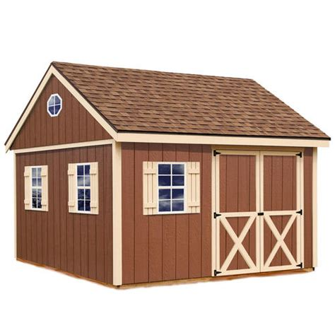 Shed Kits Menards by Best Barns Mansfield 12 X 12 Shed Kit Without Floor At