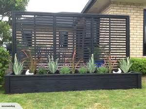 Black Garden Trellis 3 Metre Planter With Trellis In Black Trade Me