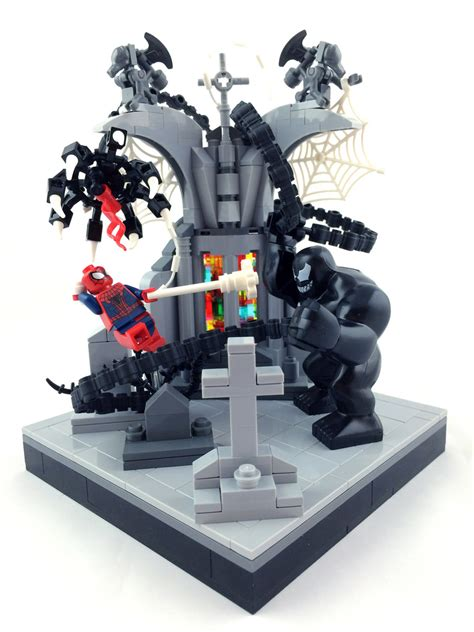 lego peter parker s apartment living room 1 here is the spider man vs venom ryan rydalch flickr