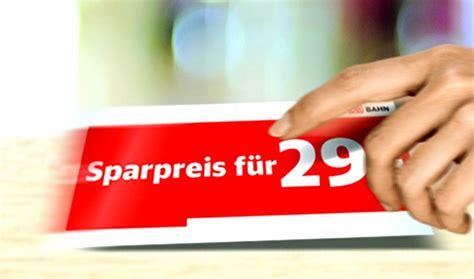 bahn sparpreise wann buchen bahn sparpreis aktion mit tickets ab 19 bis 10 6 2017