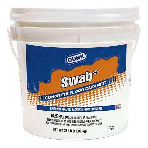 gunk 174 swab powdered concrete floor cleaner