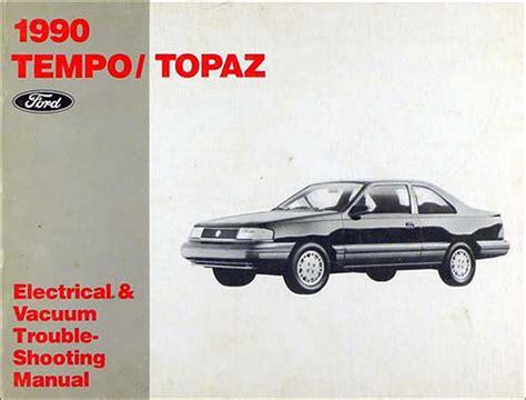 online car repair manuals free 1992 mercury topaz transmission control ford