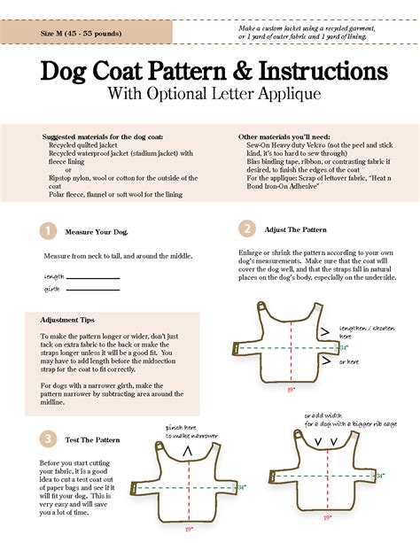 pattern for a dog coat free sewing patterns for dog clothes new zealand of gold dog