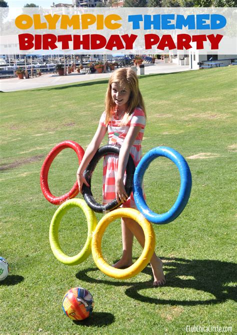 themes for olympic games olympic themed birthday party ideas and crafts